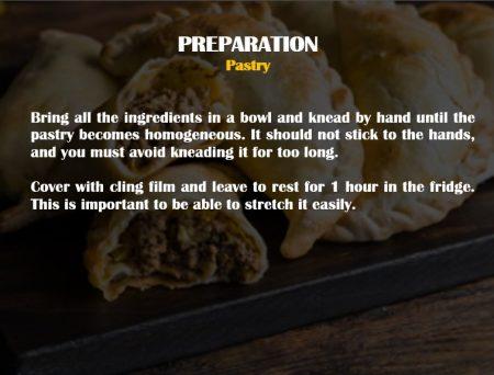 preparacion masa empanadillas