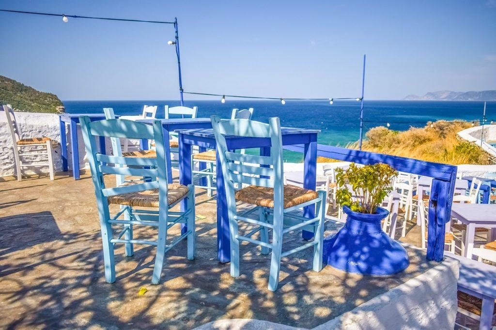 terraza mar