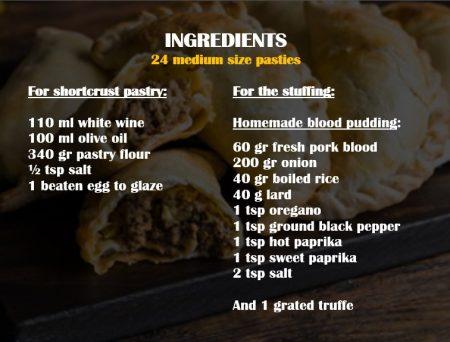 empanadillas ingredientes